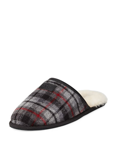 Scuff Tartan Plaid Slipper