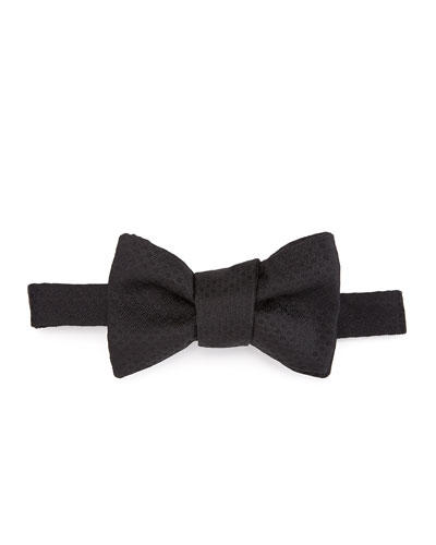 Micro-Circle Silk Tie