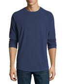 Slub Cotton Long-Sleeve T-Shirt