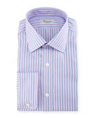 Alt-Striped Dress Shirt