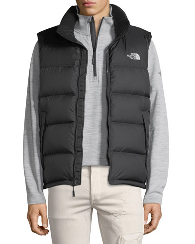 The North Face Nupste Quilted Down Vest, TNF Black
