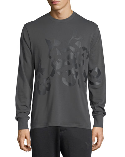 Shattered Logo Cotton Sweatshirt