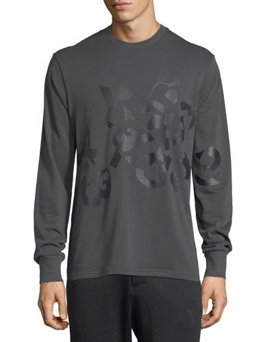 Shattered Logo Cotton Sweatshirt