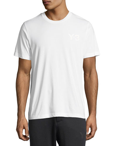 Classic Cotton Jersey Logo T-Shirt, White