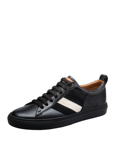 Helvio Leather Low-Top Sneaker