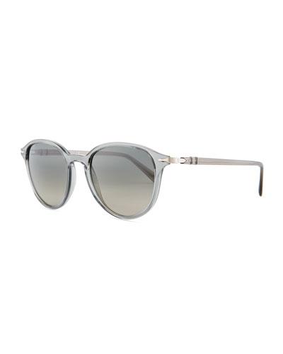 PO3169 Gradient Round Sunglasses