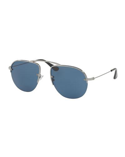 Men's Teddy Aviator Sunglasses