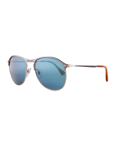 PO649S Aviator Sunglasses
