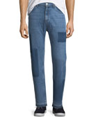 OS-2 Straight-Leg Removed Patch Jeans