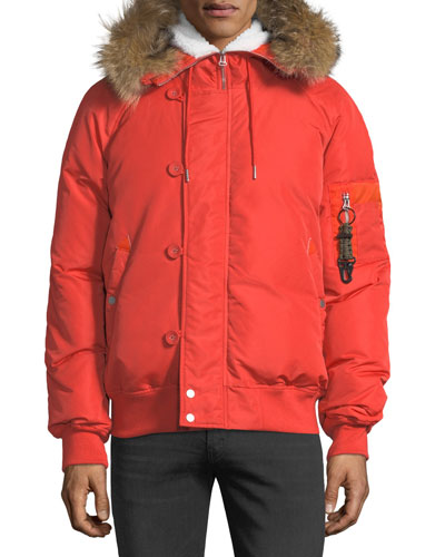 Snorkel Down Jacket w/ Fur Hood