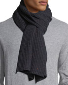 Cashmere Donegal Scarf