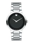39.2mm Modern Classic Watch, Gray/Black