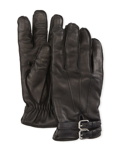 ddf603887 Quick Look. Guanti Giglio Fiorentino · Belted Napa Leather Gloves ...