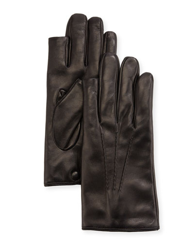 0bd2f8650 Quick Look. Guanti Giglio Fiorentino · 3-Point Napa Leather Gloves w/  Cashmere Lining