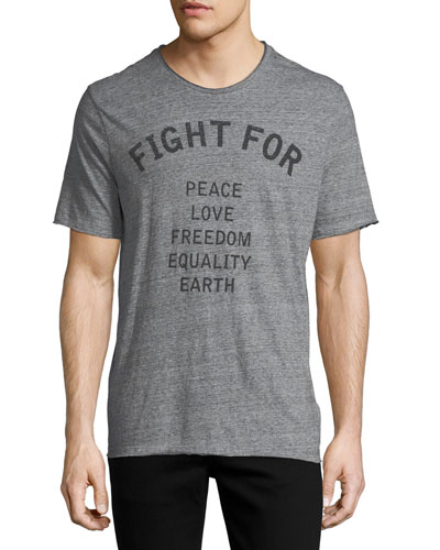 Fight For Cotton T-Shirt