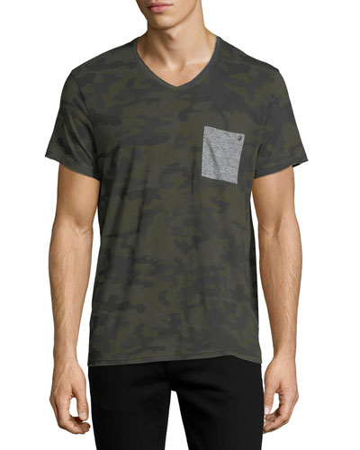 Camouflage Pocket T-Shirt