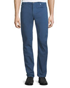 Men's Garment-Dyed 5-Pocket Denim Pants