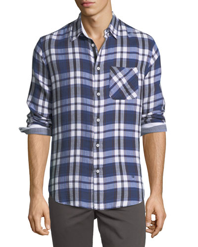 Standard Issue Fit 3 Plaid Beach Shirt