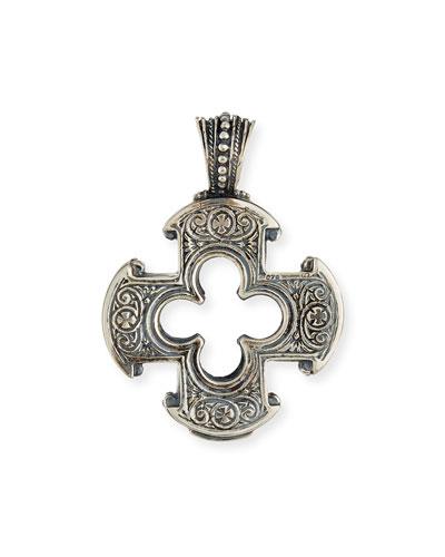 Sterling Silver Classics Cross Pendant