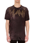 Dirty Distressed Logo T-Shirt