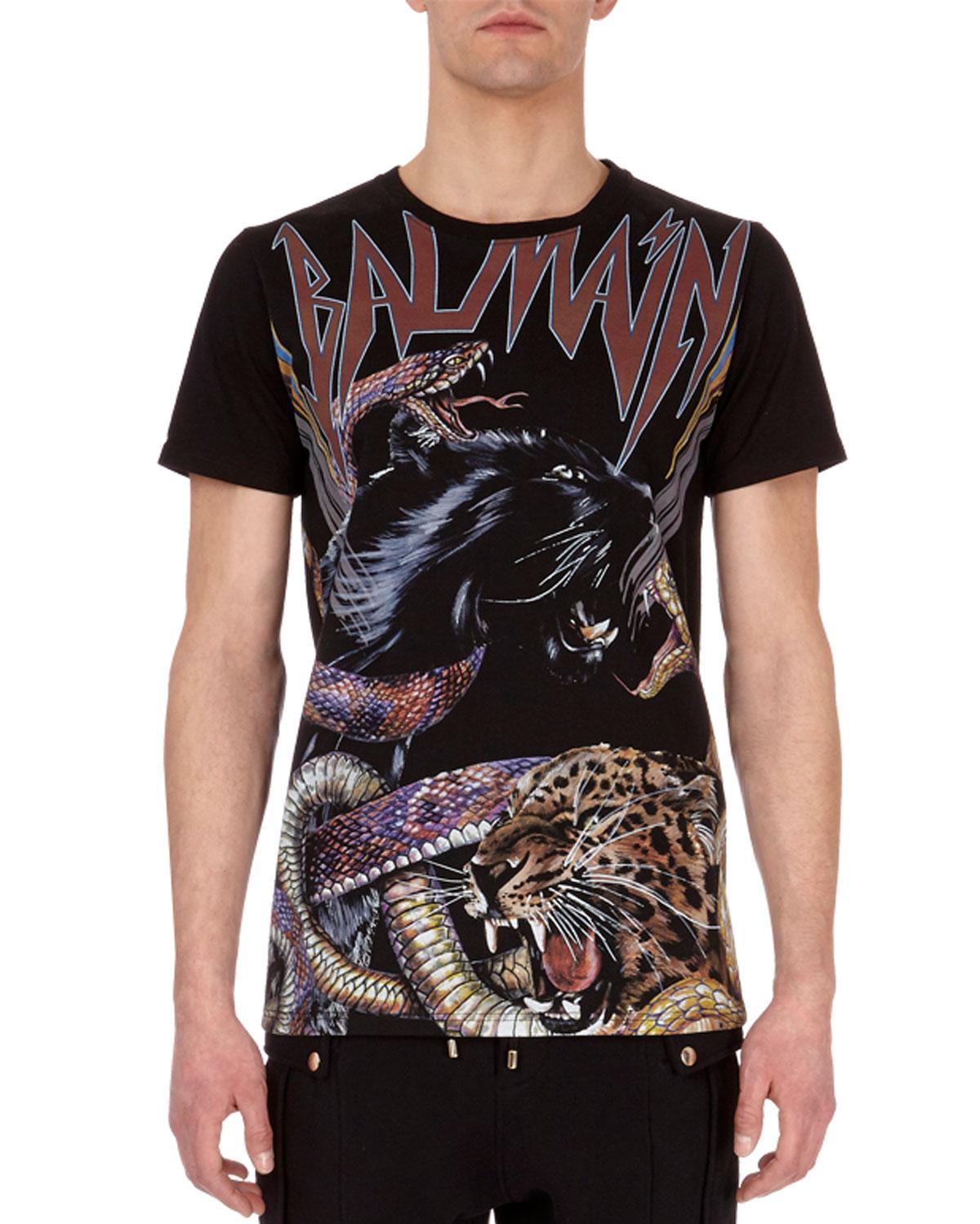 Jaguar & Snake Logo T-Shirt