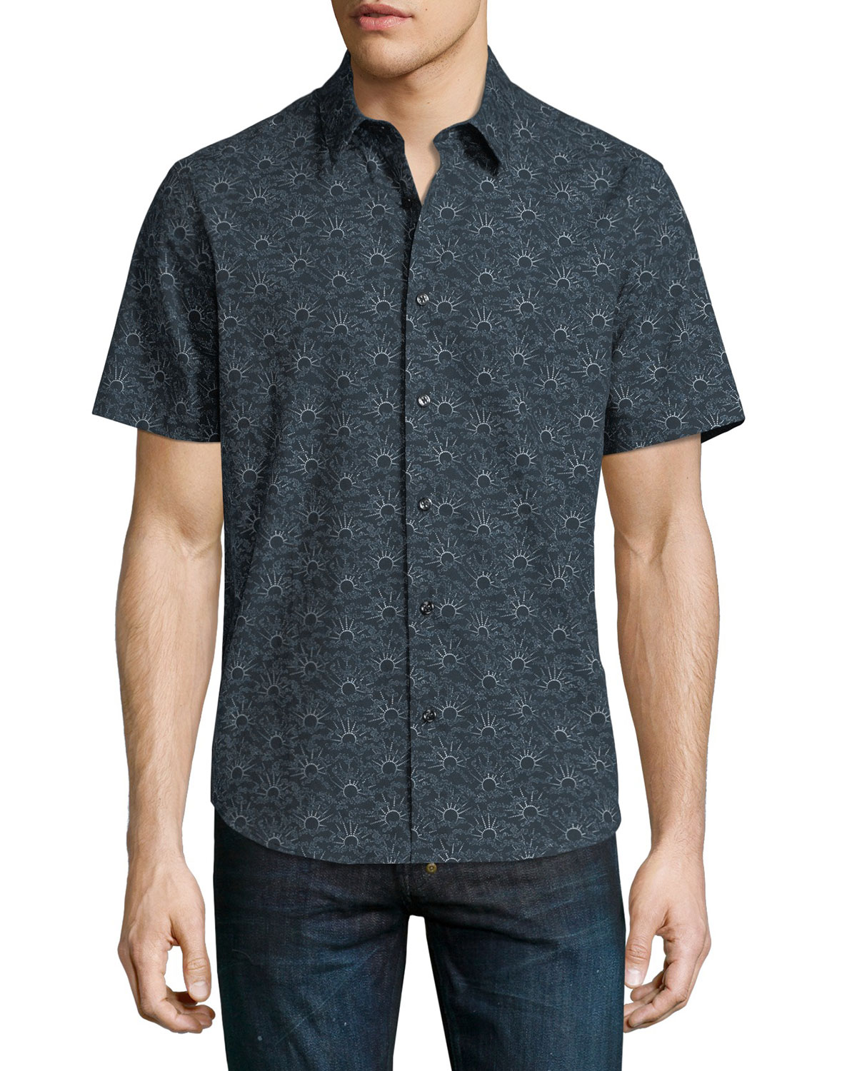 Nikko Printed Short-Sleeve Shirt