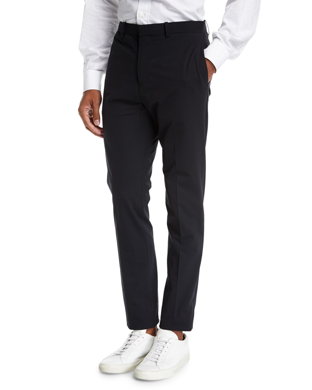 Tailored Wool Semi-Tech Pants