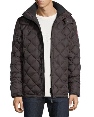 Hendriksen Diamond-Quilted Coat