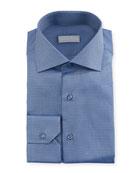 Small Neat Woven Dress Shirt