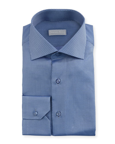 Small Neat Woven Dress Shirt