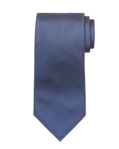 Neat-Print Silk Tie