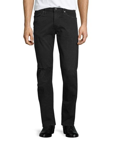 Tyler Torn & Thrashed Denim Jeans, Black