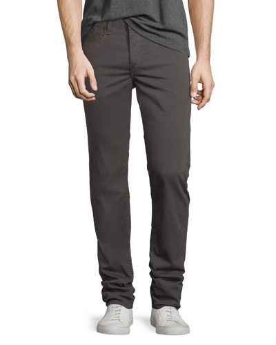 Standard Issue Fit 2 Mid-Rise Relaxed Slim-Fit Pants, Ax Gray