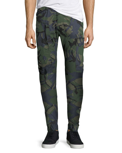 Powel 3D Tapered Camouflage Jeans