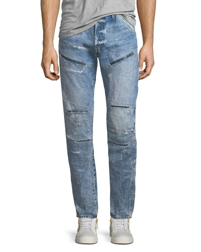 5620 3D Tapered Rip & Repair Jeans