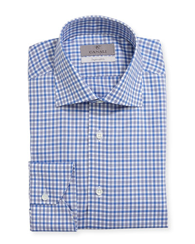 Impeccabile Check Dress Shirt