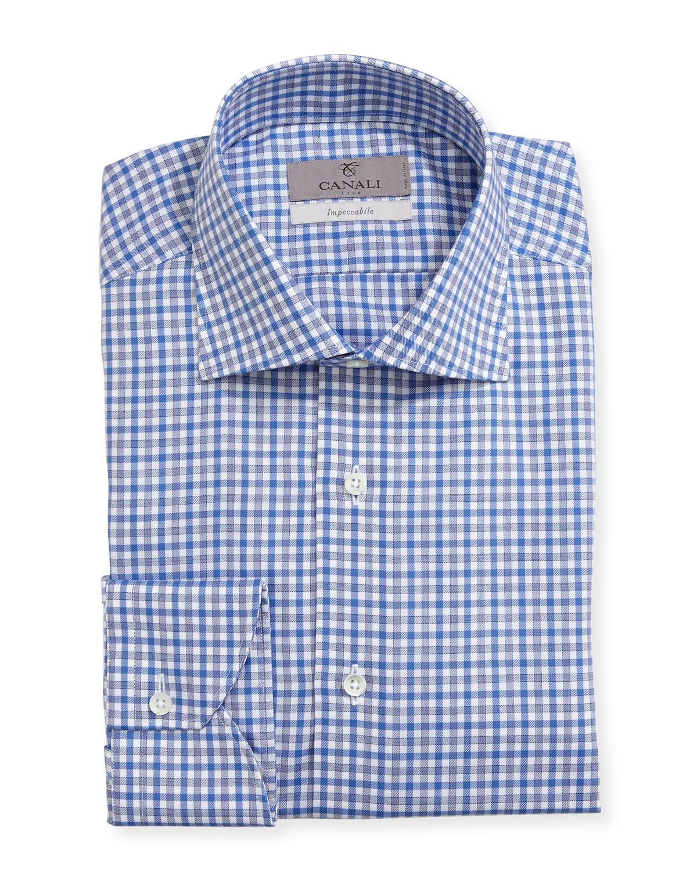 Impeccabile Check Dress Shirt