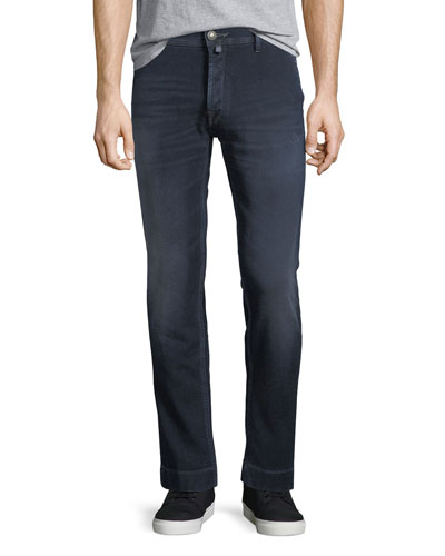 Dark Wash Slim-Straight Jeans