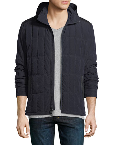 Quilted Down-Filled Jacket