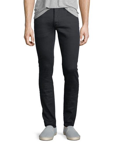 Skinny Button-Fly Jeans