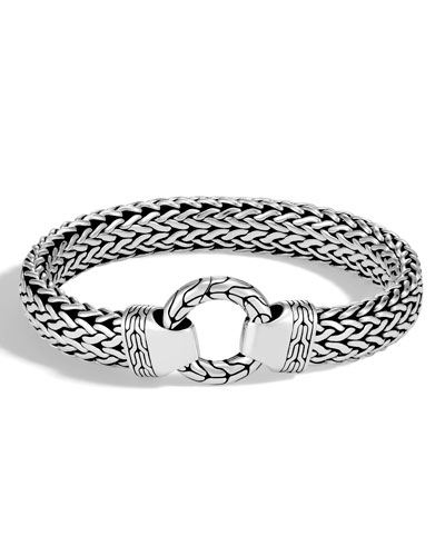 Men's Classic Chain Sterling Silver Bracelet