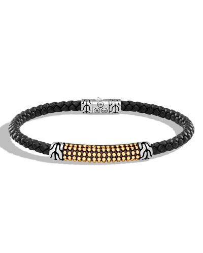 Konstantino Phidias Mens Leather Cord Bracelet nB9VEfLI