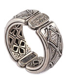 Men's Zeus Sterling Silver Band Ring