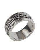 Men's Sterling Silver Cross Ring