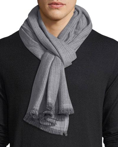 Sciarpa Wool Fringe Scarf