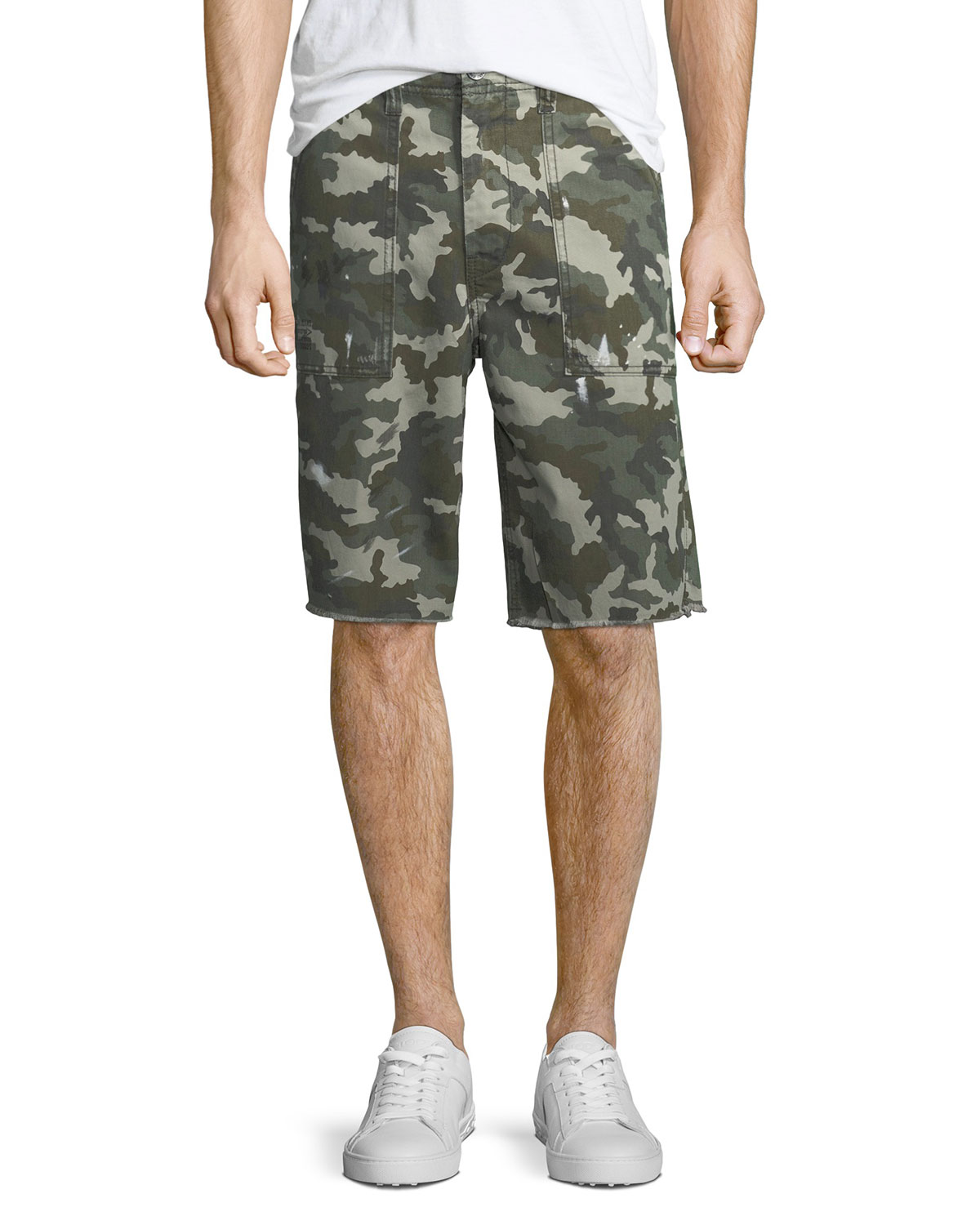 Surplus Camouflage Shorts