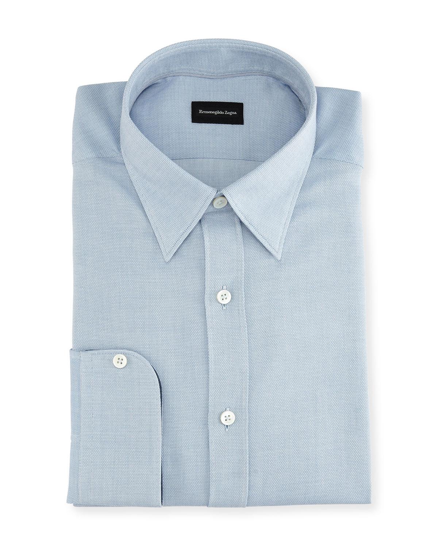 Woven Cotton Regular-Fit Dress Shirt
