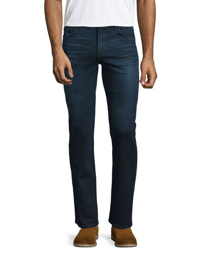 Luxe Performance: Straight-Leg Denim Jeans, Vigilante