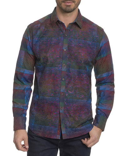 Limited Edition Patchwork Sport Shirt