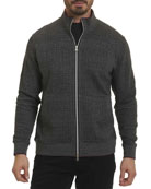 Hyde Park Full-Zip Sweater